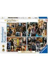 Harry Potter Puzzle 4x100 Piezas Ravensburger 6832