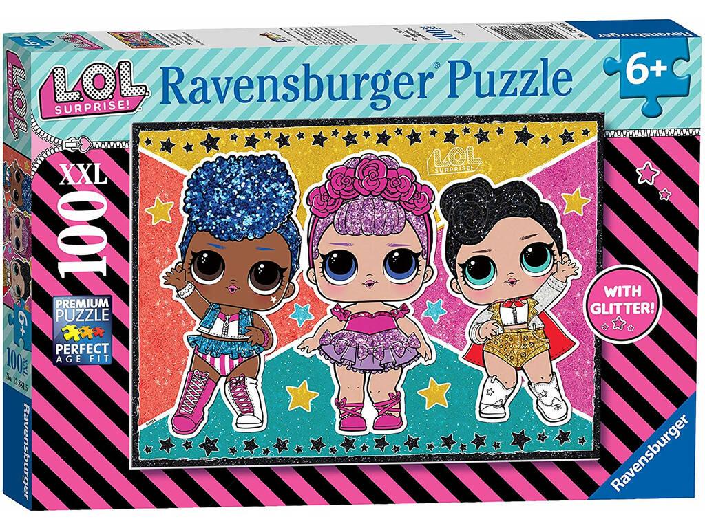 Puzzle XXL LOL Glitter100 Ravensburger 12881