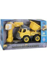 Camión Volquete con Destornillador y Taladro