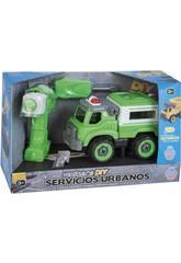 Camión Basura con Destornillador y Taladro