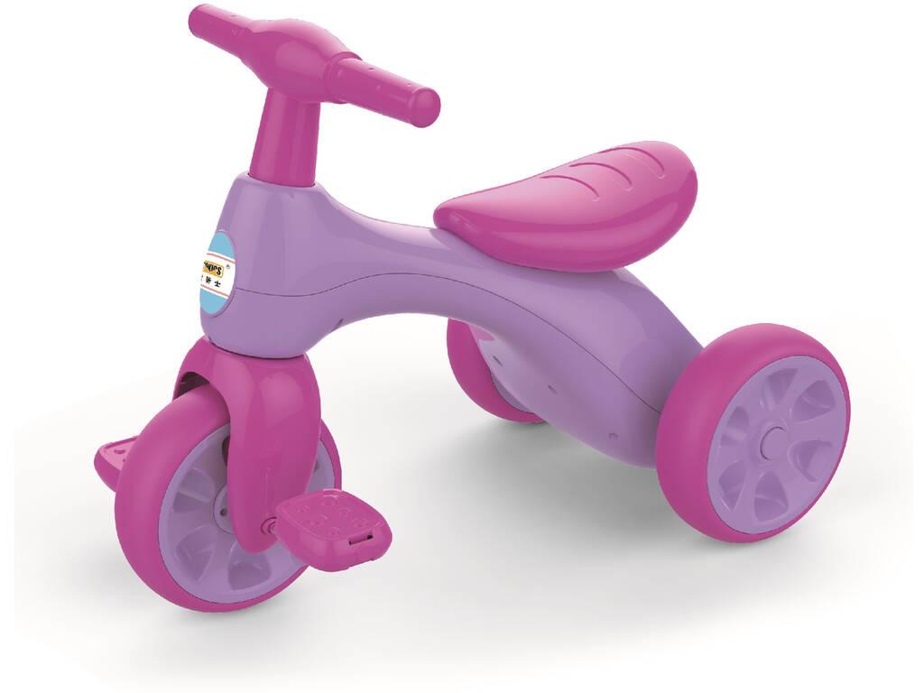 Triciclo Pedales Rosa y Violeta