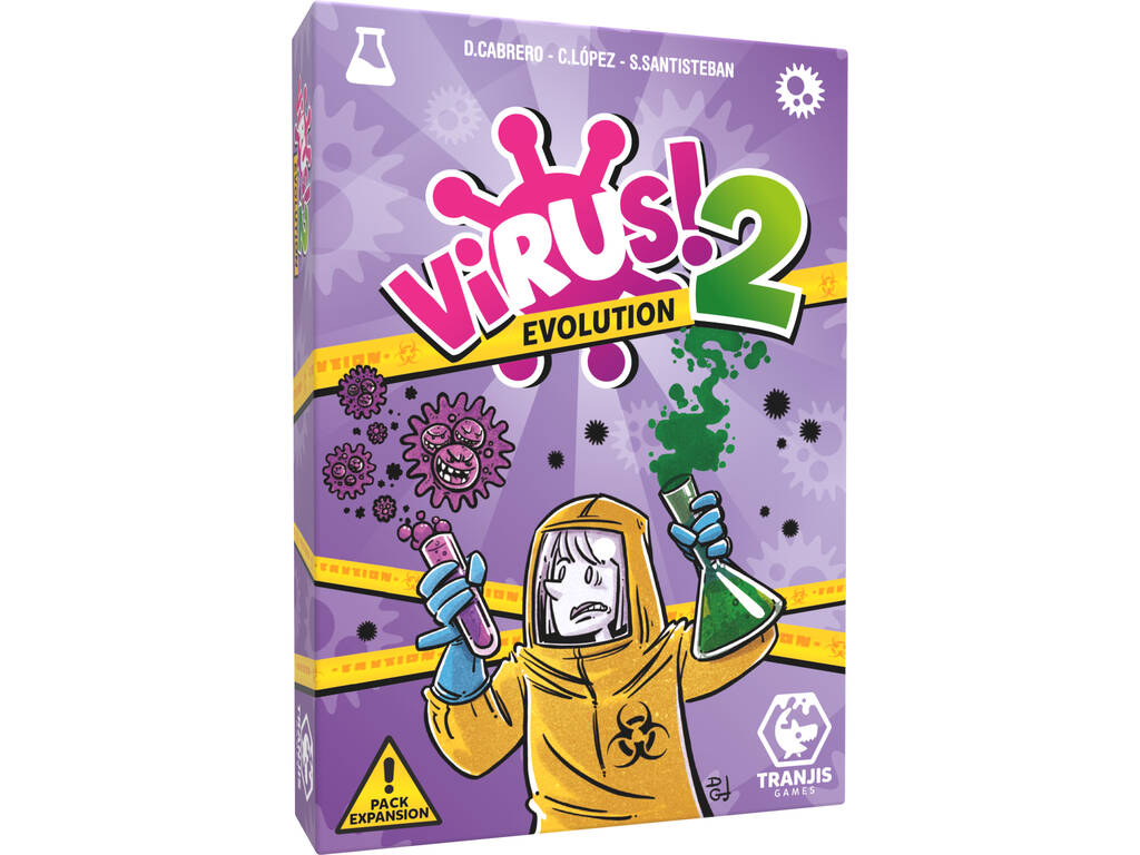 Virus 2 Evolution Expansion Tranjis Games TRG-0012evo