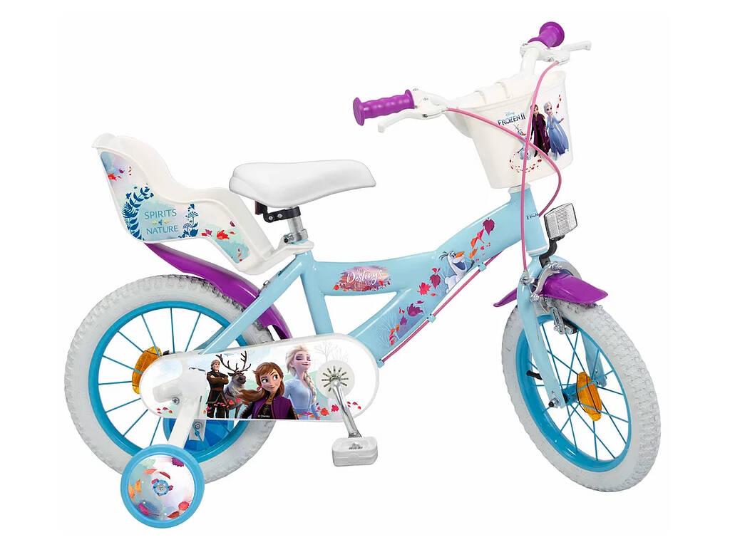 Bicicleta Frozen 2 14 Toimsa 694