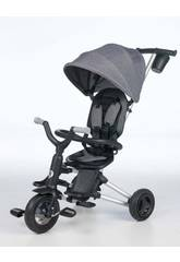 Tricycle Pliable Nova Gris Qplay T490