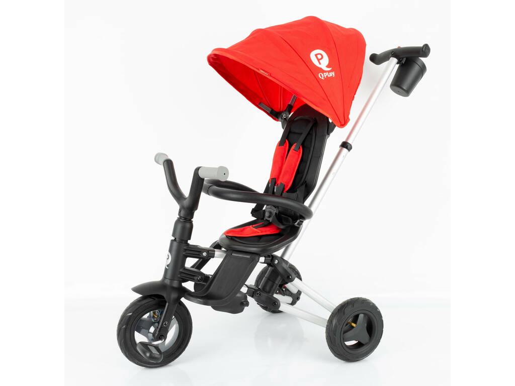 Triciclo Pieghevole Nova Rosso QPlay 491
