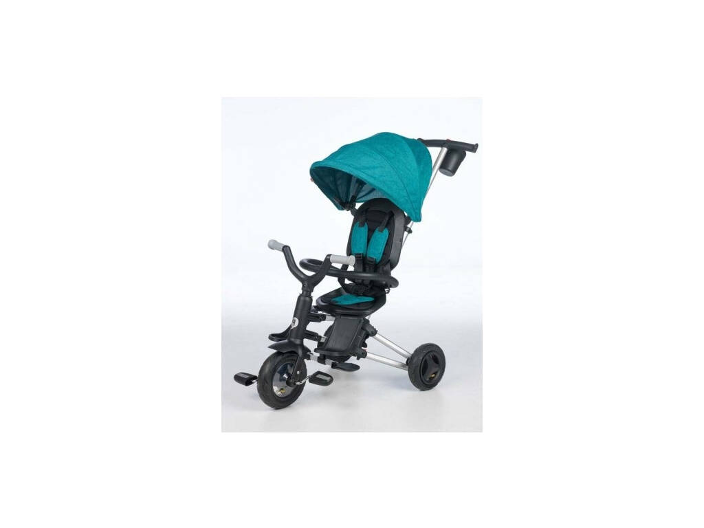 Tricycle Pliable Nova Vert QPlay T493