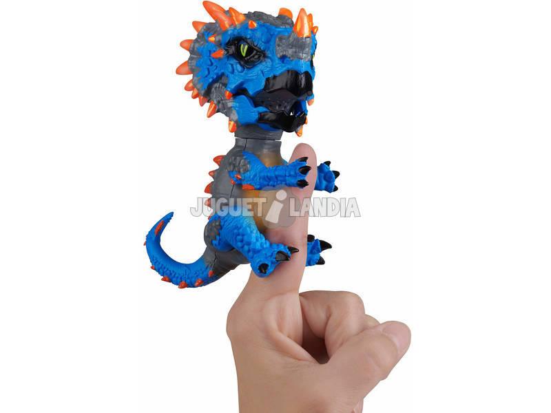 Fingerlings Untamed Radioactive Dinos Series Triceratops WowWee 3978