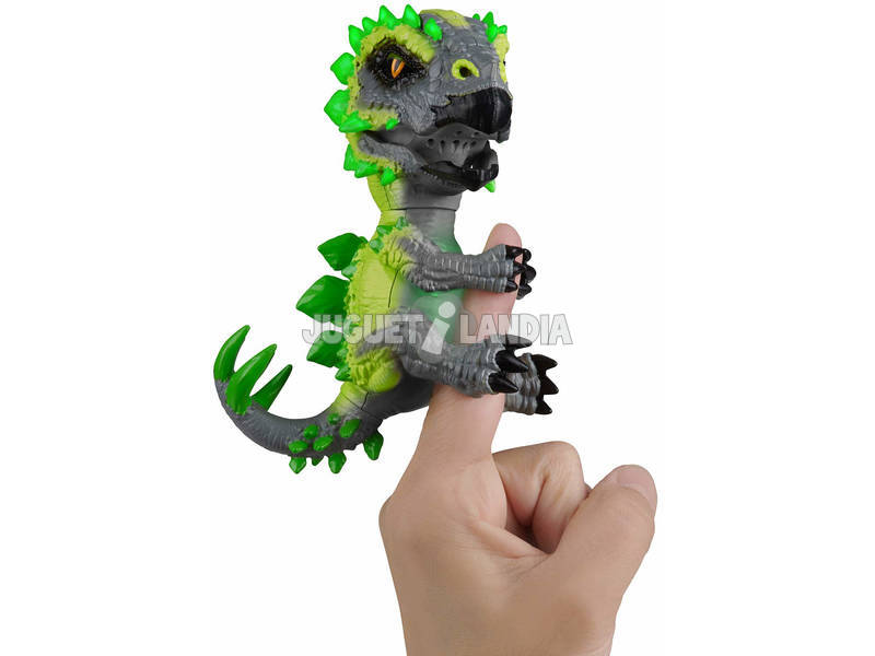 Fingerlings Untamed Radiocative Dinos Series Stagosaurus WowWee 3979