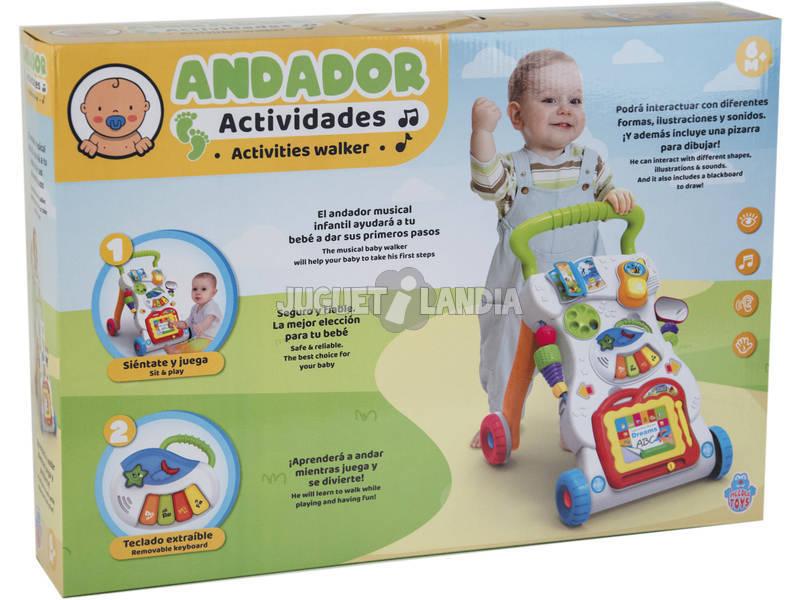 Andador Bebé Actividades