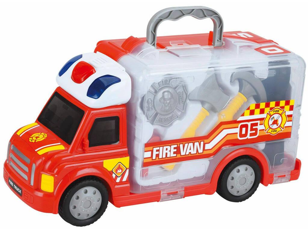 Mallette Camion de Pompier
