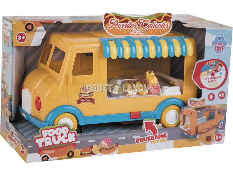 Camión Food Truck Comida Rápida con Sonidos