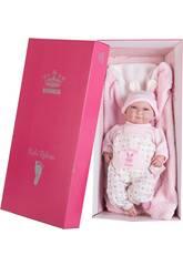 Bambola Il Mio Piccolo Reborn Pelón 45 cm. Rosa Orecchiette Berbesa 4554