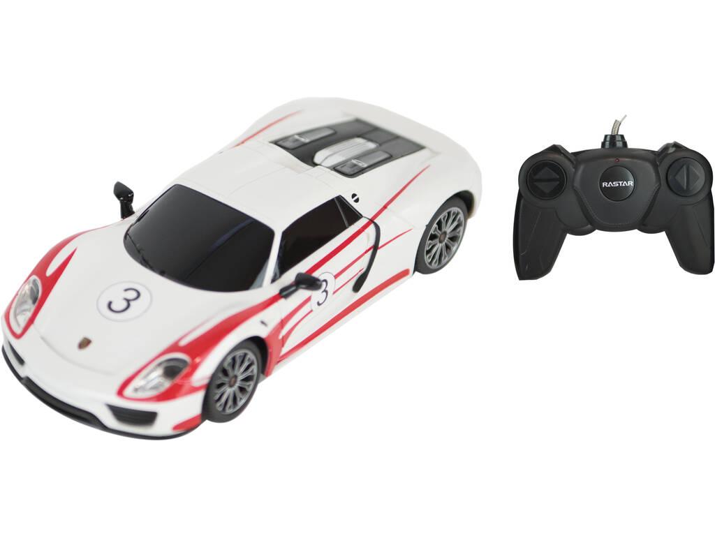 Télécommande 1:24 Porsche 918 Spyder Weissach