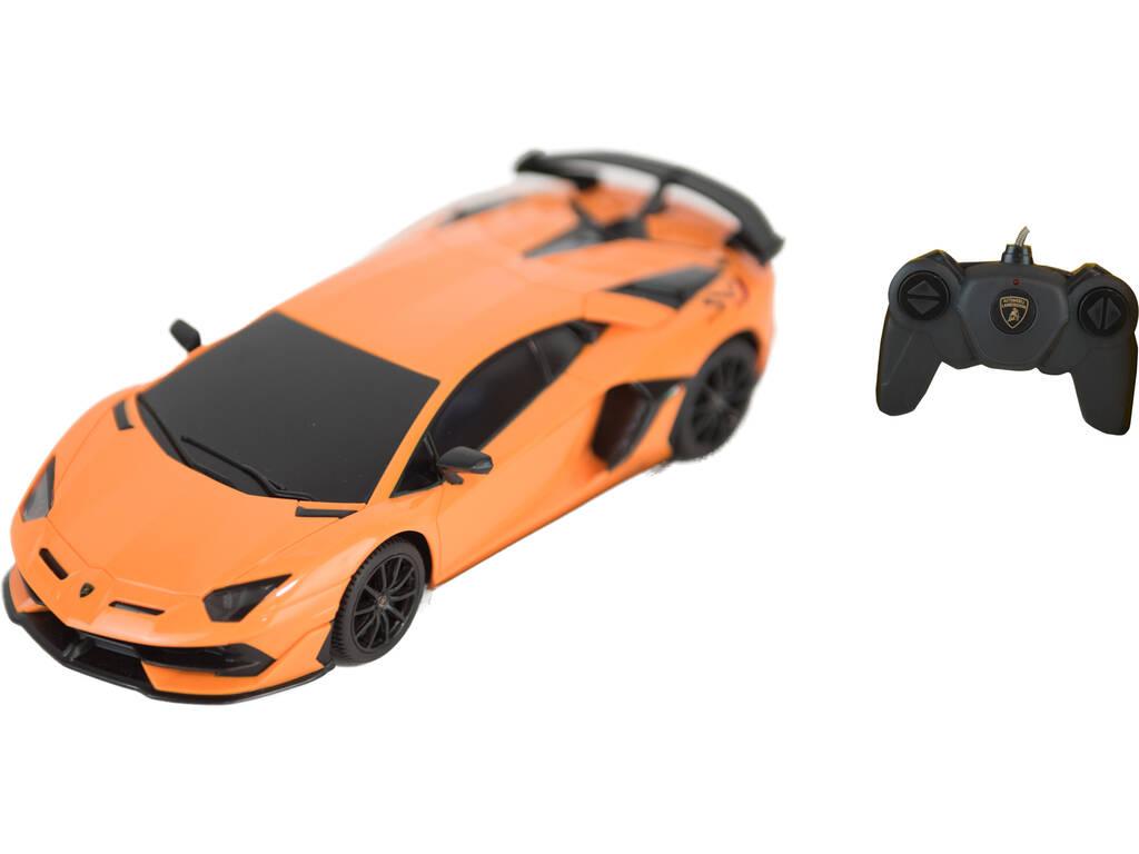 Radio Control 1:24 Lamborghini Aventador SVJ Teledirigido