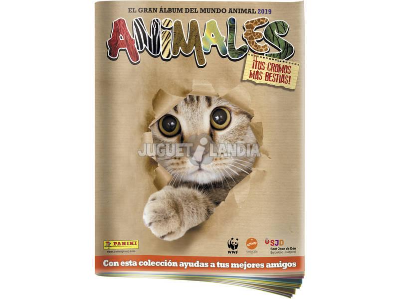 Animales 2019 Album Panini 8018190000672