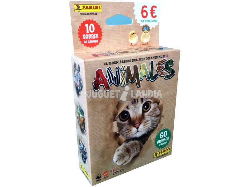 Animales 2019 Blister 10 Sobres Panini 9788427871618