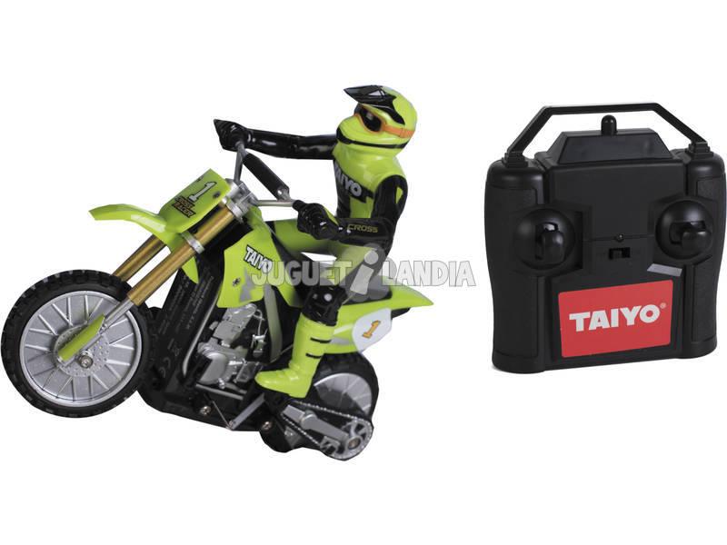 Radio Control 1:16 Motocross Racer Neon Green Taiyo 500000A Teledirigido