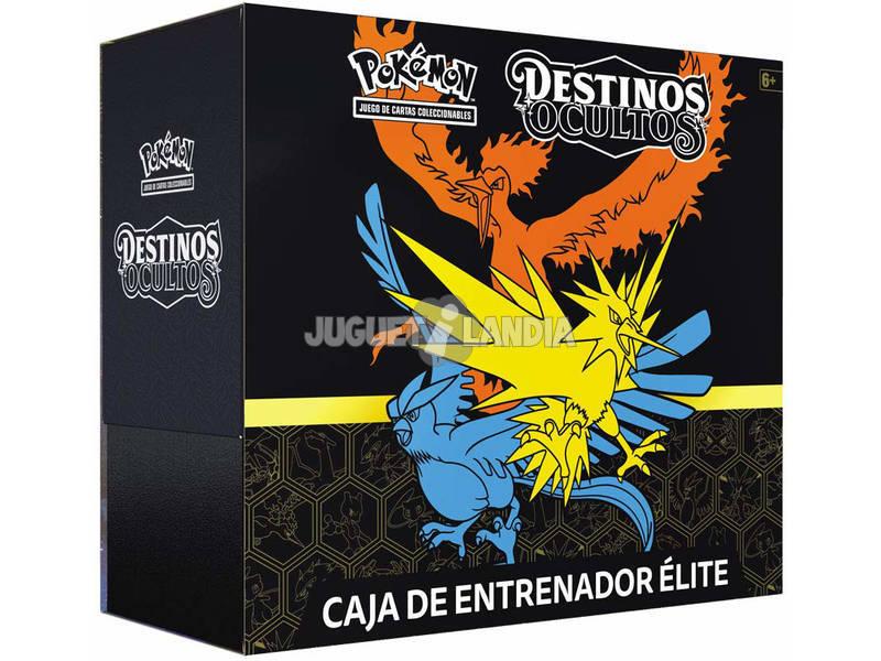 Pokémon Caja Entrenador Élite Destinos Ocultos Bandai PC50054
