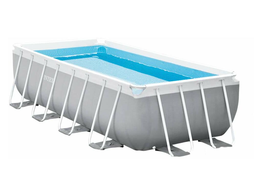 Piscina Desmontable Prism Frame 400x200x100 cm. Pool Set Intex 26788