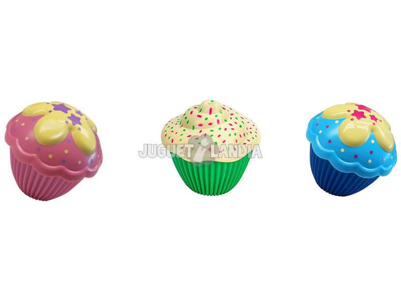 Pack 3 Muñecas Mini Cupcake Surprise Toy Partner 11150
