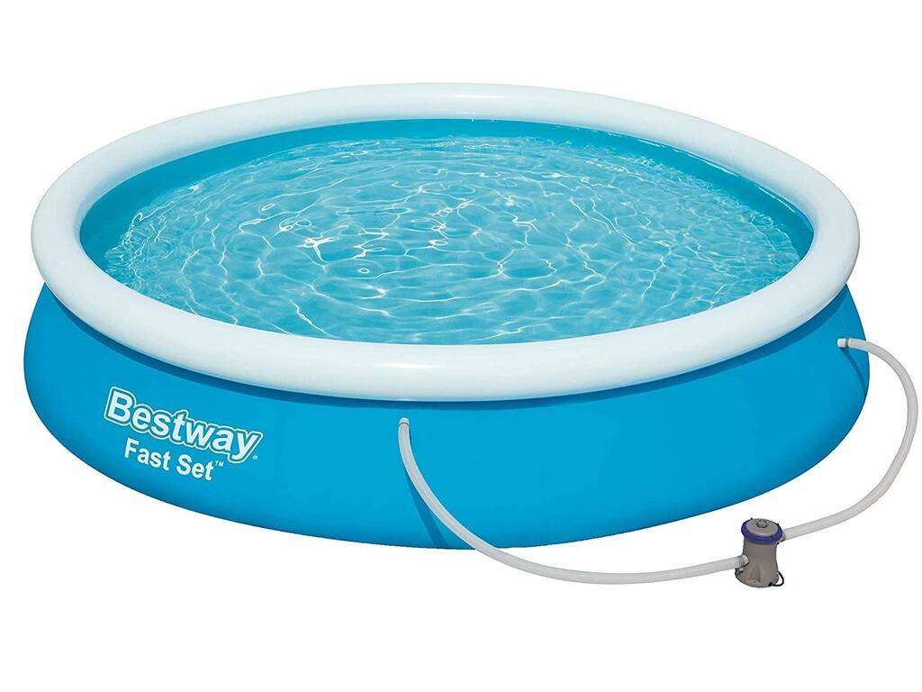 Piscina Desmontable Fast Set Aro Hinchable 366x76 cm. Bestway 57274