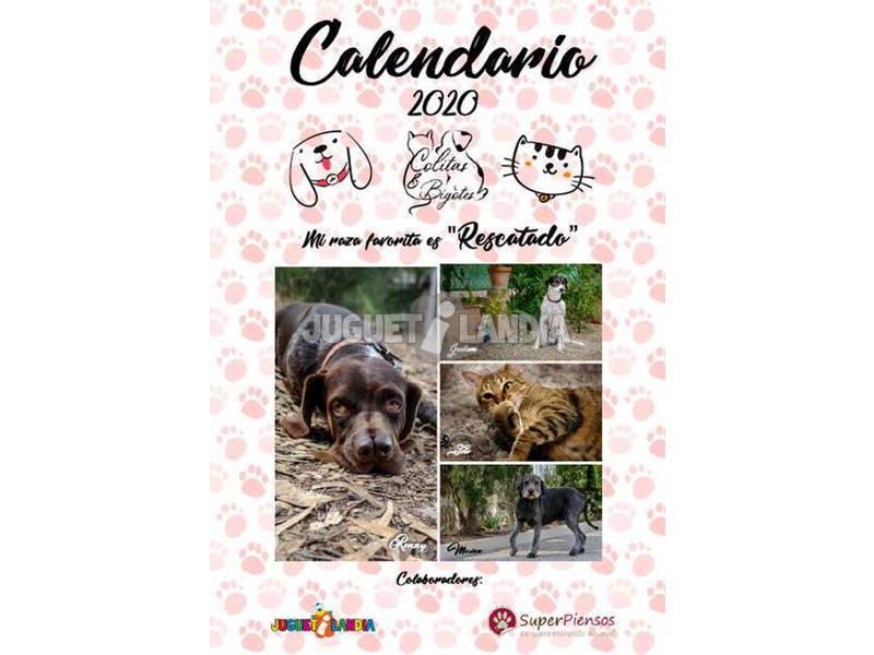 Calendario Solidario 2020 Colitas y Bigotes