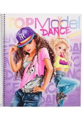 TopModel Cuaderno para Colorear Dance 10959