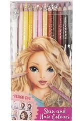 TopModel Crayons à Colorier Peau et Cheveux 5678