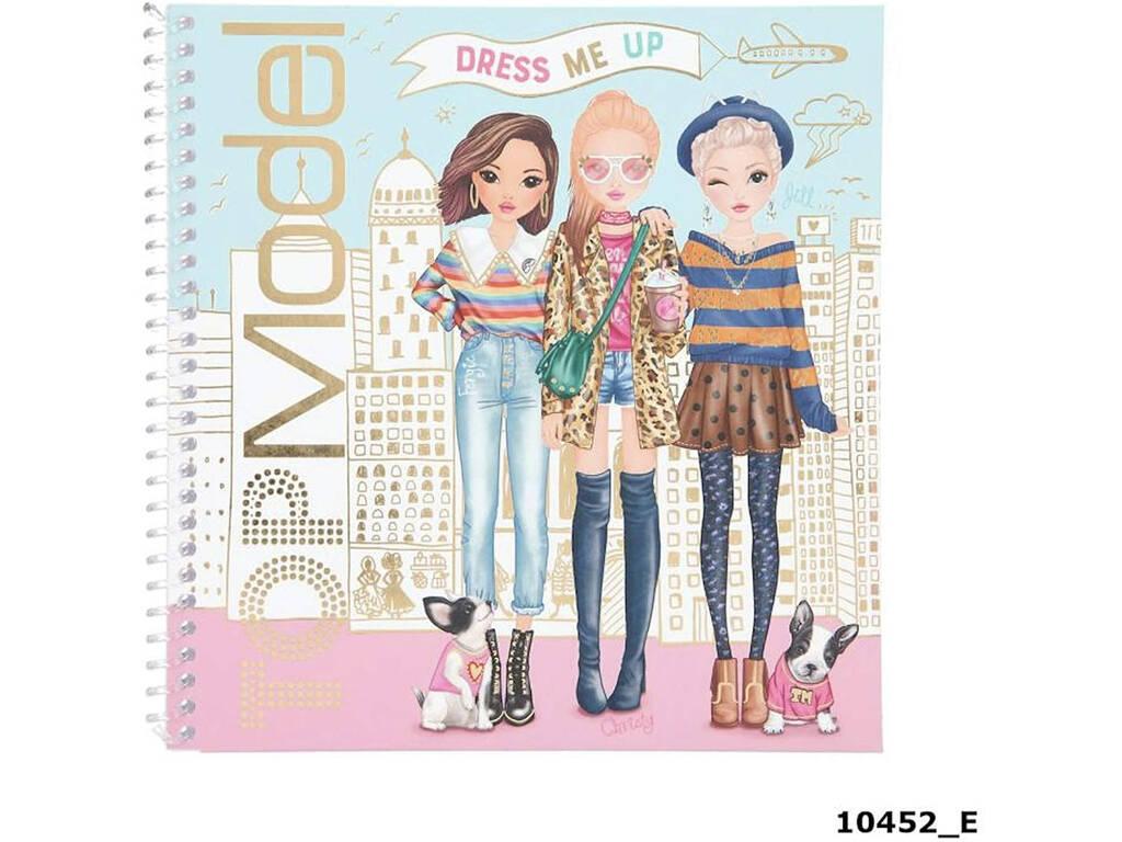 TopModel Cuaderno con Calcomanías Dress Me 10452