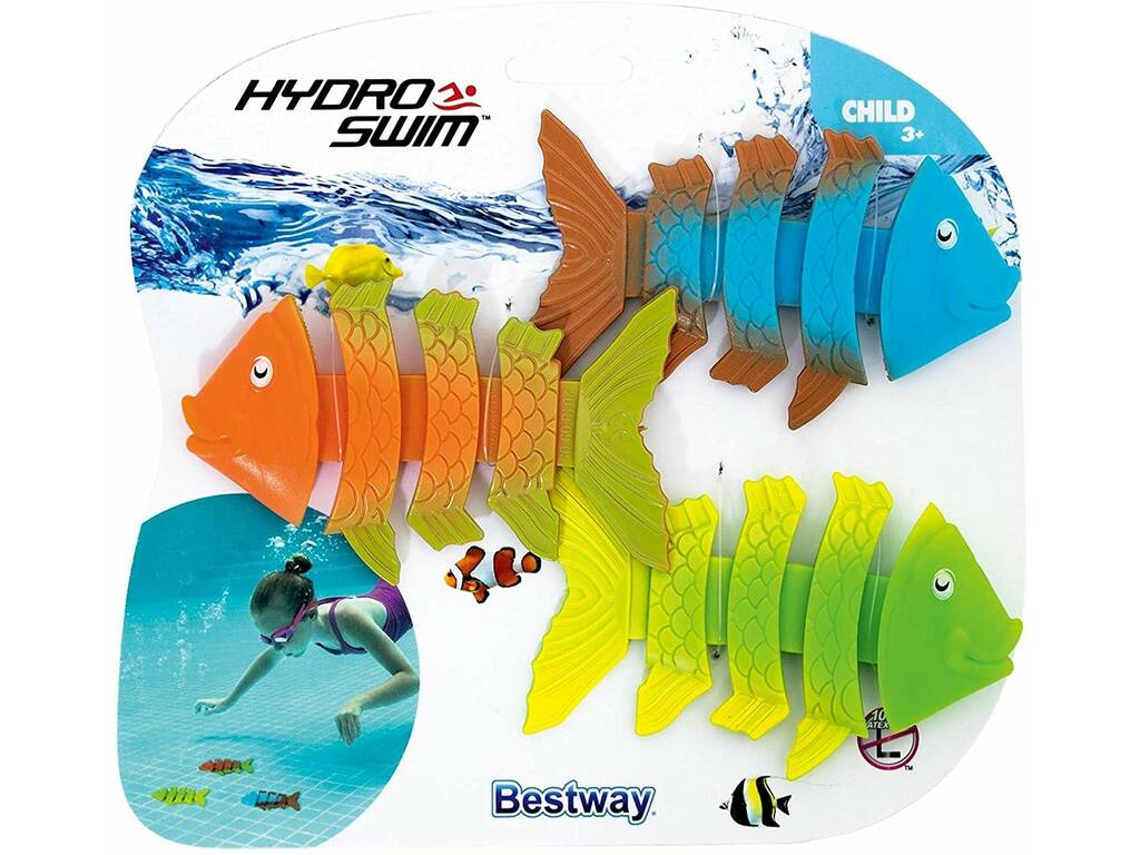 Poissons de Plongée Hydro Swim Quiggle Wiggle Bestway 26029