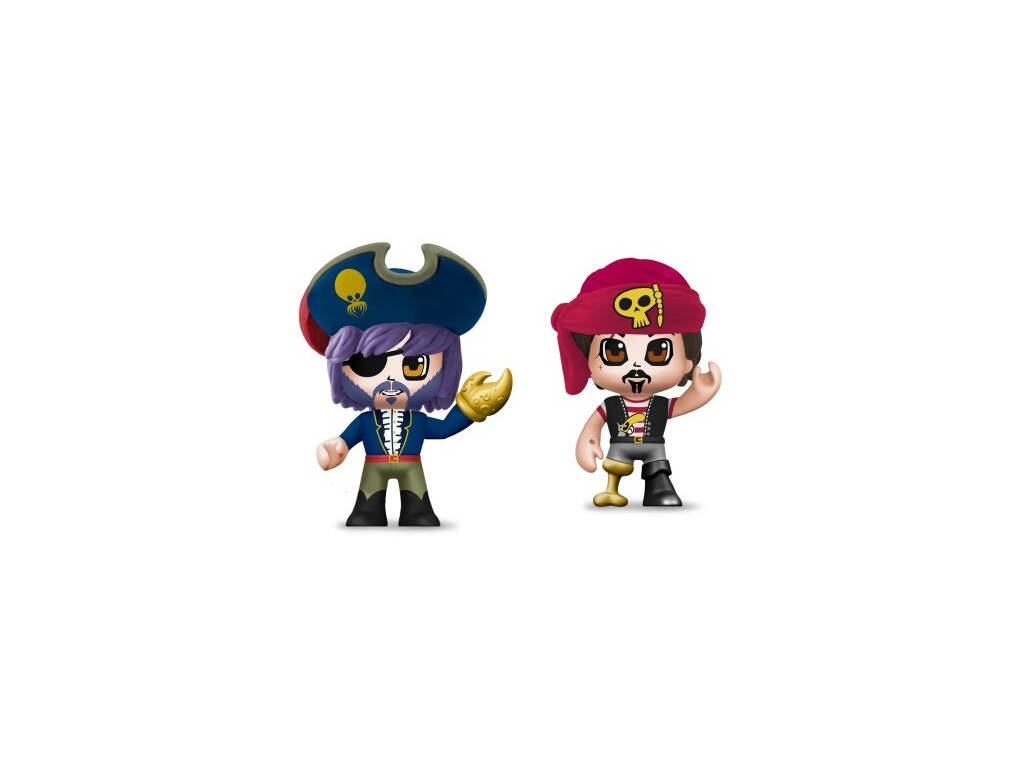 PinyPon Action Pack 2 Figurines de Pirates Famosa 700015644