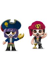 PinyPon Action Pack 2 Figurines de Pirates Famosa 700015644