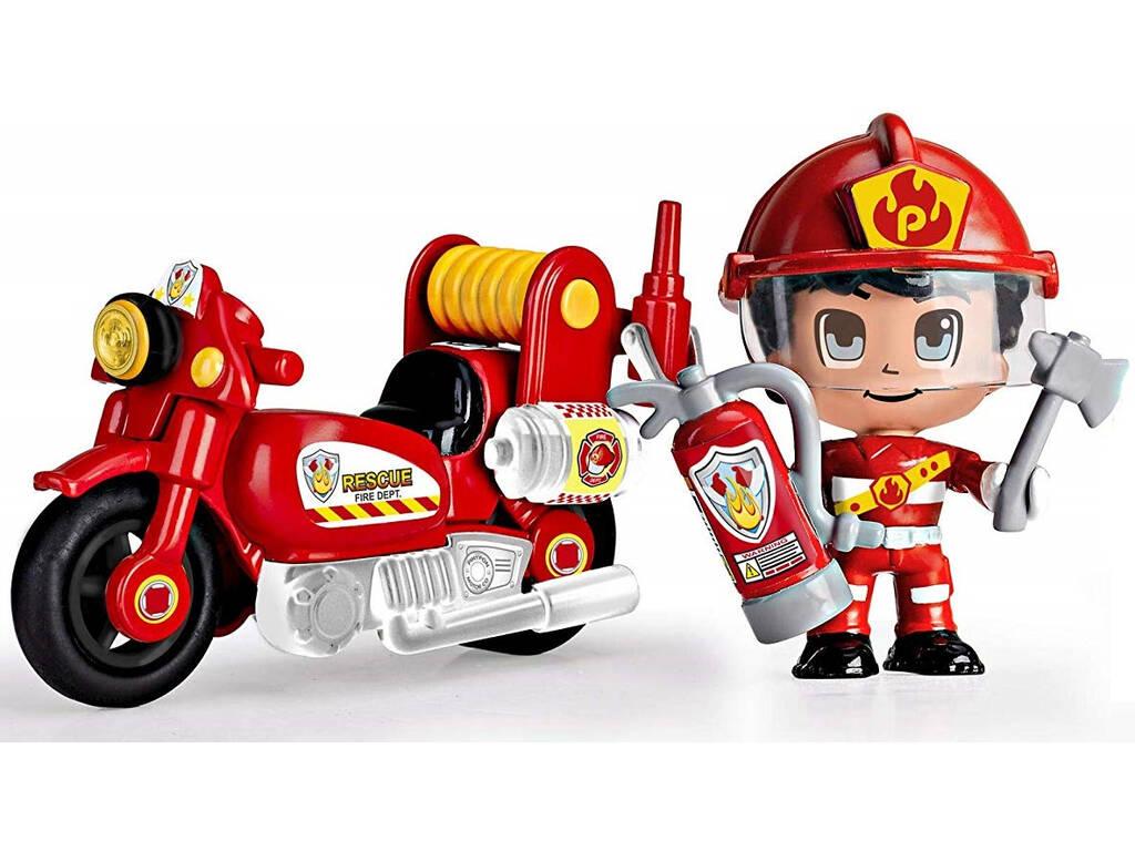 Pinypon Action Moto de Pompier Famosa 700015636