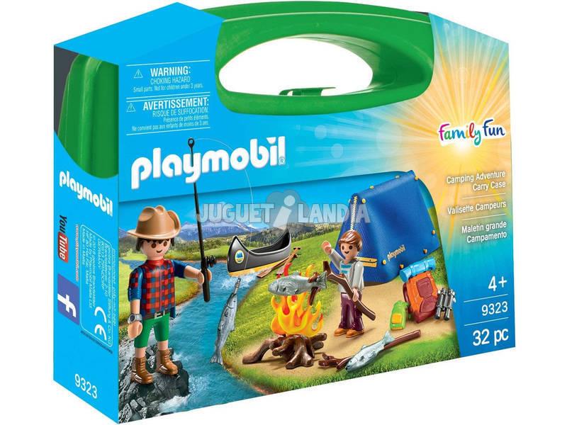 Playmobil Maletín Grande Camping 9323