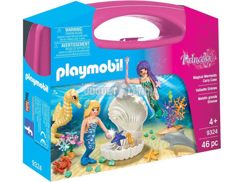 Playmobil Mallette de Grande Taille Sirènes 9324