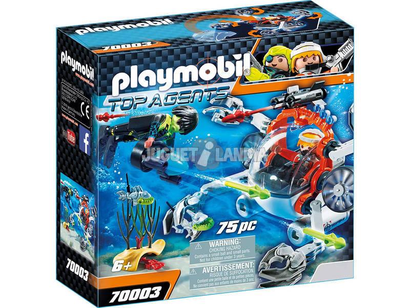 Playmobil Spyteam Sub Bot 70003