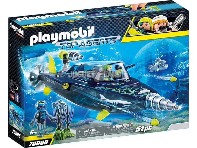 Playmobil Team S.H.A.R.K. Foreuse 70005