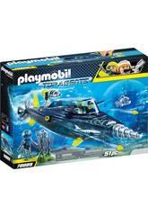 Playmobil Team S.H.A.R.K. Perforadora 70005