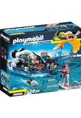 Playmobil Team S.H.A.R.K. Nave con Arpón 70006