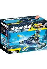 Playmobil Team S.H.A.R.K. Raketeschiff 70007