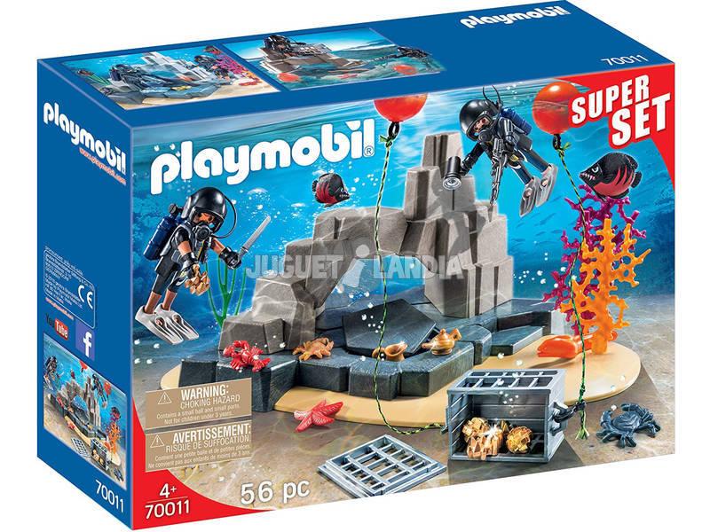 Playmobil Superset Unidad de Buceo 70011