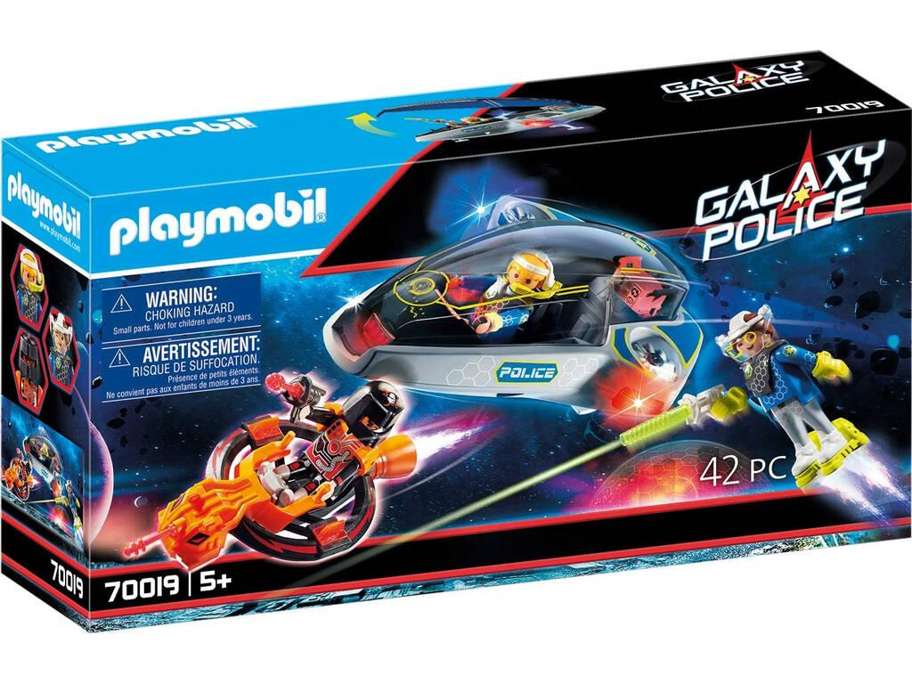 Playmobil Policía Galactica Planeador