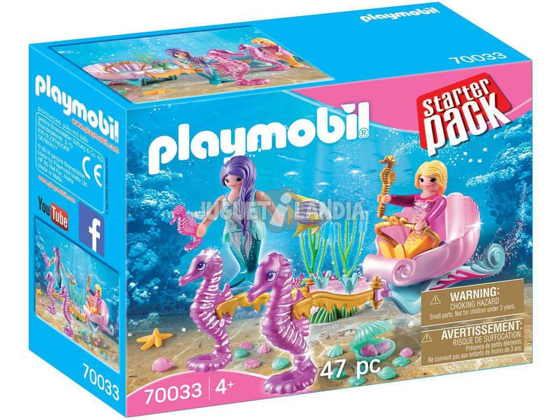 Playmobil Starter Pack Carrosse Hippocampes 70033