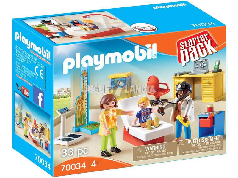 Playmobil Starter Pack Consulta de Pediatría 70034