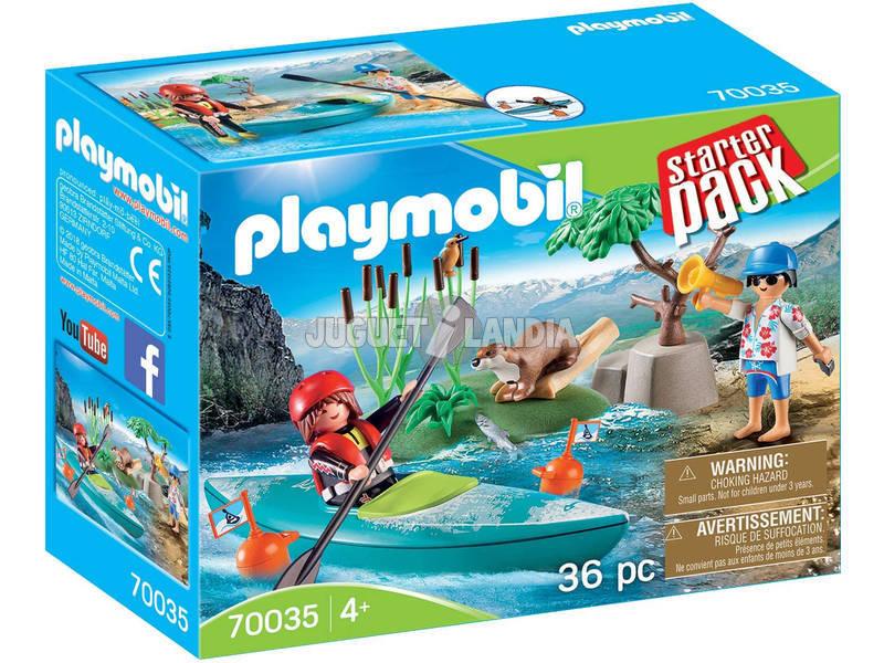 Playmobil Starter Pack Aventura en Canoa 70035