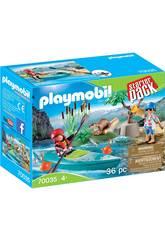 Playmobil Starter Pack Aventura em Canoa 70035