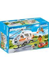 Playmobil Helicóptero de Rescate 70048