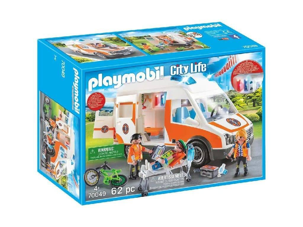 Playmobil Ambulancia con Luces 70049