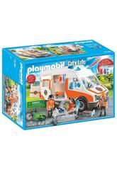Playmobil Ambulance avec des Lumières 70049