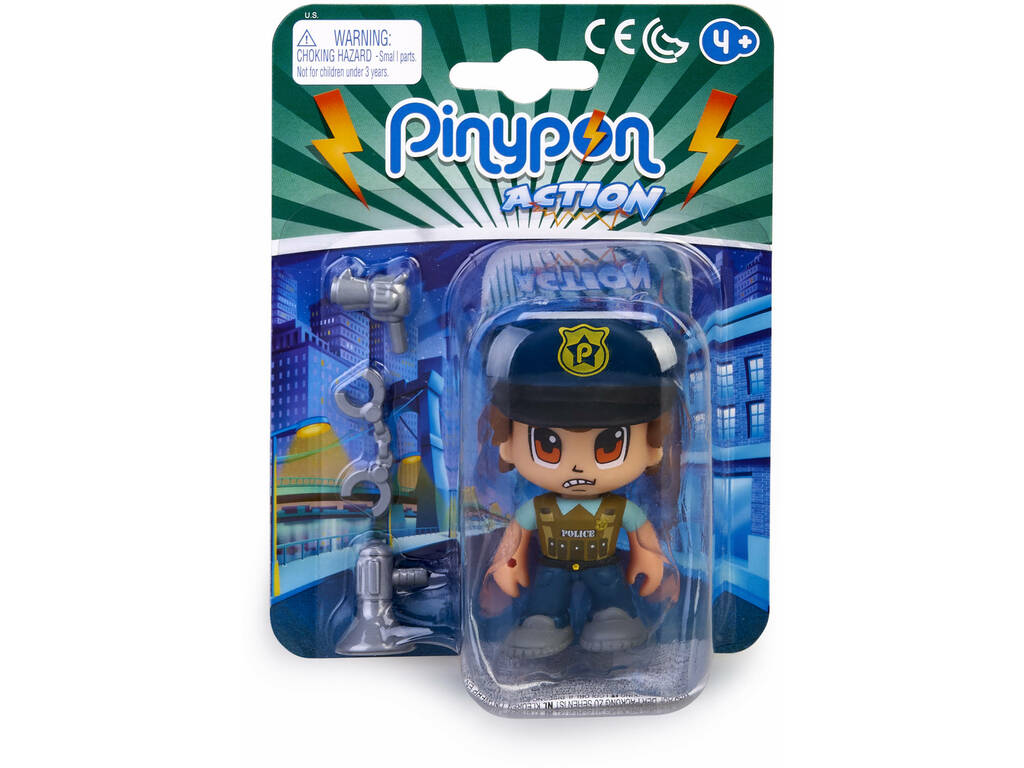 Pinypon Action Policier Squad Boss Famosa 700015589